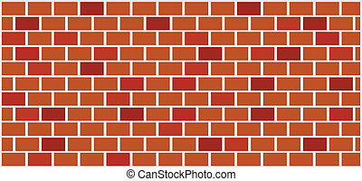 wall illustration - brick wall illustration - vector
