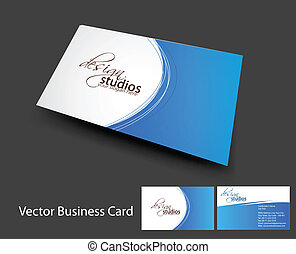 vector business card set , elements for design