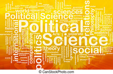 Political science background concept - Background concept...