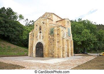 San Miguel de Lillo church - IX century San Miguel de Lillo...
