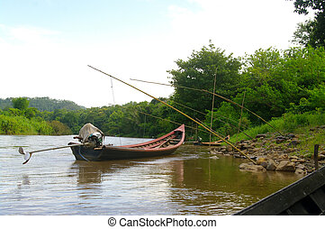 Pirogue - These boats are extremely fast and agile on the...