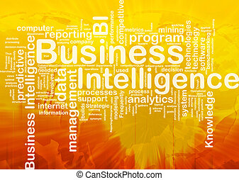 Business intelligence background concept - Background...