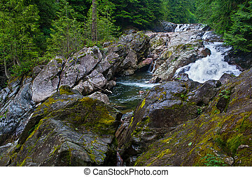 Weeks Falls on the Snoqualmie River - The beautiful Weeks...