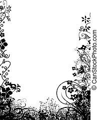 cornice, fiore