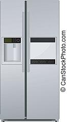 refrigerator. vector