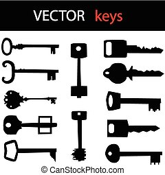 key icon set for your shop