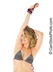 female in swimsuit