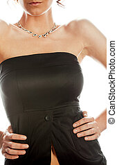 Sexy female torso