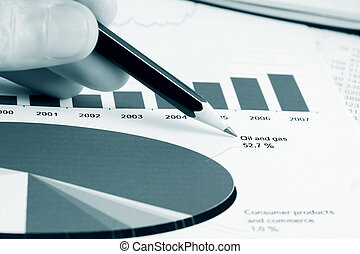 Stock market reports - Analysis of stock market reports.