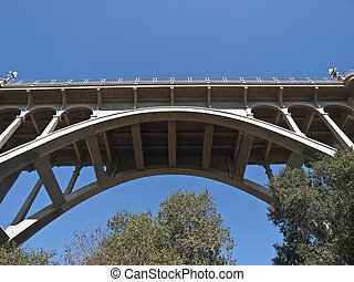 Pasadena California Colorado Blvd Bridge