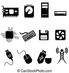 Computer and technology icons - Computer and technology icon...