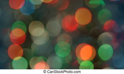 Celebration lights in bokeh