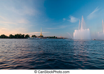 Classic and modern masterpieces of StPetersburg at one view...