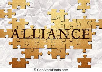 aliança, Quebra-cabeça