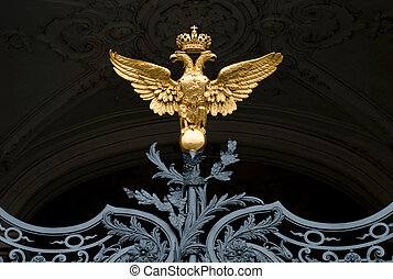 Symbol of Russian empire - The Symbol of Russian empire at...