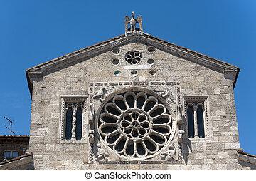 Lugnano in Teverina Terni, Umbria, Italy - Santa Maria...