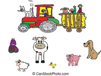 farmer and the animals