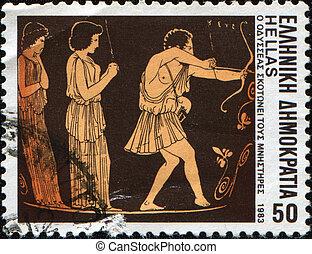 odysseus, pretendentes, Matanças