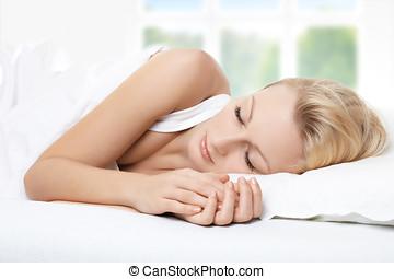 beauté, dormir