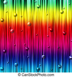 colorful abstract background with bubbles - colorful stripes...