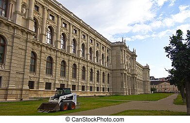Vienna Natural History Museum - View of the Natural History...