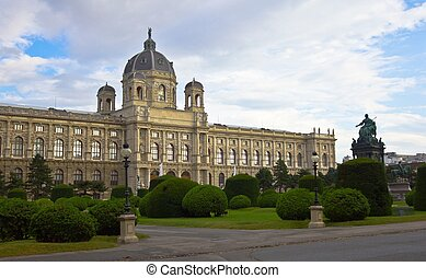 Vienna Art History Museum - View of the Art History Museum...