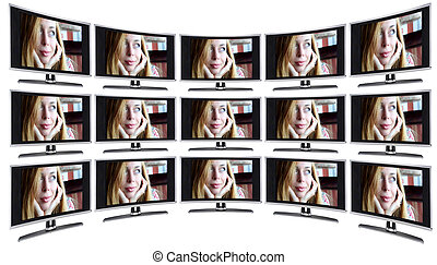 TV displays / monitors - Business equipment: TV displays,...
