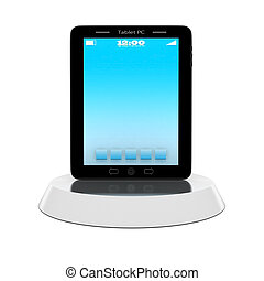 3D icon - 3D image of the beautiful icons on white...