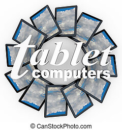 Tablet Computers New Technology Devices e-Readers