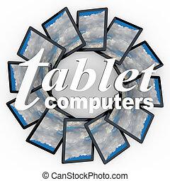tabuleta, computadores, Novo, tecnologia, dispositivos,...