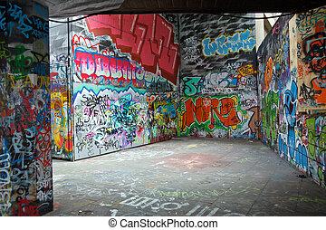 coloré, graffiti