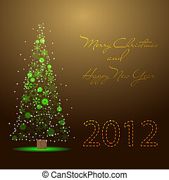Merry Christmas and New Year 2012