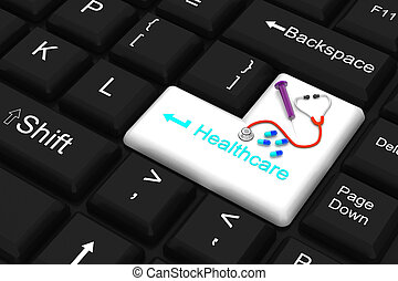 healthcare enter key