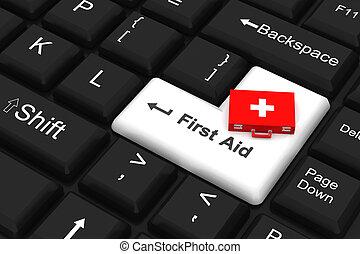 First aid key