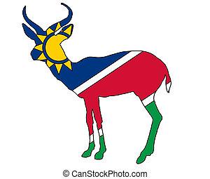 Namibia antelope