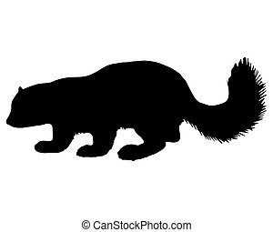 Sable silhouette