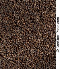 imagem, pretas, pimenta, tempero, Textured, fundo