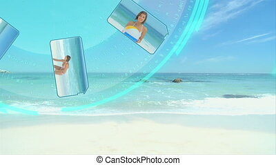3D Animation on Beach Sports