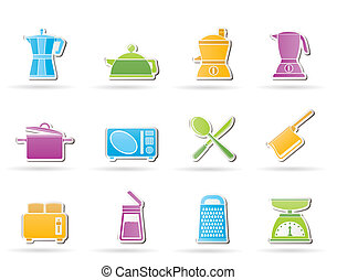 kitchen and household equipment
