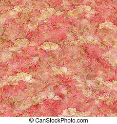 Strawberries and Ccream Fluffy Pink print Textured Background