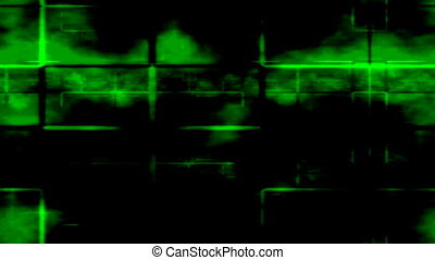 Radar - Scanning radar motion background seamless loop