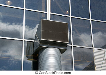 ventilation - Ventilation pipe is located near a wall of...