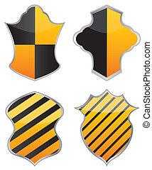 vector shields for design