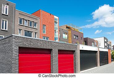 red garage