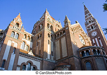 The Church of Szeged - Dom, the Church of Szeged