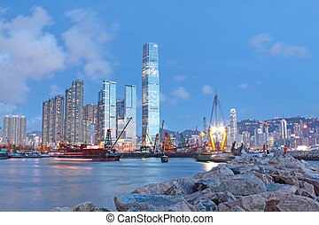 hongkong night