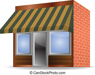 Awning Clip Art Vector And Illustration 819 Awning