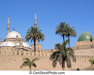 Mohammad Ali mosque in Cairo Egypt