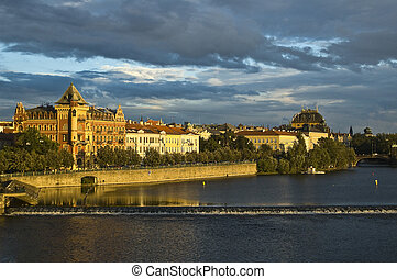 Prague - Moldau River