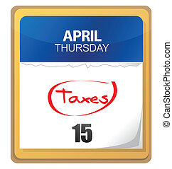 The big Tax Day, the 15th